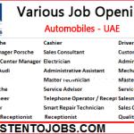 1000+ Huge Job Vacancies in Al Nabooda Automobiles 2019| Any Graduate/ Any Degree / Diploma / ITI |Btech | MBA | +2 | Post Graduates | UAE