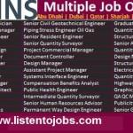 Huge Job Vacancies in Atkins @UAE-Saudi Arabia-Qatar