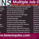 Huge Job Vacancies in Atkins @UAE-Saudi Arabia-Qatar