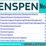 Huge Latest Oil and Gas Job Vacancies in Penspen | Any Graduate/ Any Degree / Diploma / ITI |Btech | MBA | +2 | Post Graduates | Abu Dhabi,Bangkok,Singapore,UAE,USA,UK