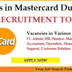 Huge Job Vacancies in MasterCard@Dubai,UAE,Doha,Singapore