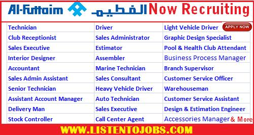 Huge Job Vacancies In Al Futtaim Motors Lexus Dubau Uae Listentojobs
