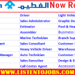 Huge Job Vacancies in Al-Futtaim Motors @Lexus,Dubau-UAE