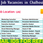 Latest Job Vacancies in Chalhoub Group | Any Graduate/ Any Degree / Diploma / ITI |Btech | MBA | +2 | Post Graduates | Dubai,UAE