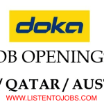 Huge Latest Job Vacancies in Doka Group | Any Graduate/ Any Degree / Diploma / ITI |Btech | MBA | +2 | Post Graduates |  UAE,Oman,Qatar,UK,Australia