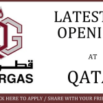 Latest Job Vacancies in Qatar Gas@Qatar