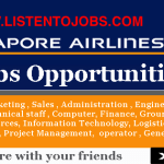 Latest Job Vacancies in Singapore Airlines 2017 | Any Graduate/ Any Degree / Diploma / ITI |Btech | MBA | +2 | Post Graduates  | Singapore