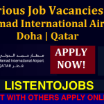 Huge Latest Job Vacancies in Hamad International airport@Qatar,Doha