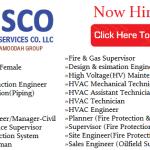 LATEST Job Vacancies in GISCO  2020| Any Graduate/ Any Degree / Diploma / ITI |Btech | MBA | +2 | Post Graduates | UAE