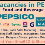 Latest Job Vacancies in Pepsico 2020 | Any Graduate/ Any Degree / Diploma / ITI |Btech | MBA | +2 | Post Graduates | Dubai,Saudi Arabia,UAE,Singapore,India