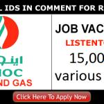 Latest Oil and Gas Job Vacancies in Emirates National Oil Company[ENOC] 2017| Any Graduate/ Any Degree / Diploma / ITI |Btech | MBA | +2 | Post Graduates  | Dubai,UAE | Apply Online