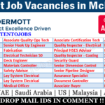 Latest Job Vacancies in McDermott International Inc | Any Graduate/ Any Degree / Diploma / ITI |Btech | MBA | +2 | Post Graduates | UAE,USA ,Mexico,UK,India,Saudi Arabia ,Malaysia,Indonesia,Australia