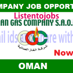 Latest Job Vacancies in Oman Gas Company S.A.O.C. September 2017| Any Graduate/ Any Degree / Diploma / ITI |Btech | MBA | +2 | Post Graduates