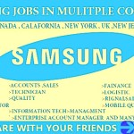 Latest Job Opening in Samsung 2021 |Any Graduate/ Any Degree / Diploma / ITI |Btech | MBA | +2 | Post Graduates  |India, Singapore ,Canada,California,UK,USA,UAE,Malaysia ,Dubai,Qatar  | Apply Online
