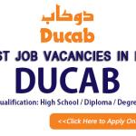 Latest Job Vacancies in DUCAB 2021| Any Graduate/ Any Degree / Diploma / ITI |Btech | MBA | +2 | Post Graduates | UAE