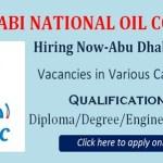 Latest Job Abu Dhabi National Oil Company 2020|  Any Graduate/ Any Degree / Diploma / ITI |Btech | MBA | +2 | Post Graduates | Abu Dhabi
