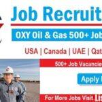 Latest Job Vacancies in Occidental Petroleum Corporation  2021| Any Graduate/ Any Degree / Diploma / ITI |Btech | MBA | +2 | Post Graduates | UAE,Qatar,USA