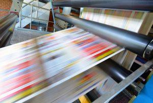 Lister Copy Team | Druckmaschine für Tageszeitung // printing machine
