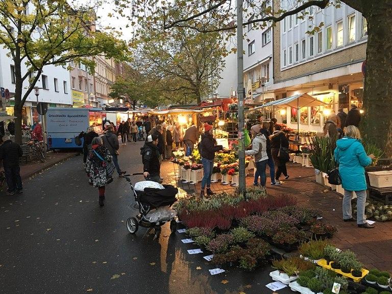 Unser Copyshop ist zentral in Hannover gelegen: an der Lister Meile