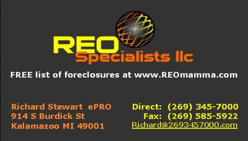 REO Foreclosures Bank Owned HUD Homes for Sale | Richard Stewart's