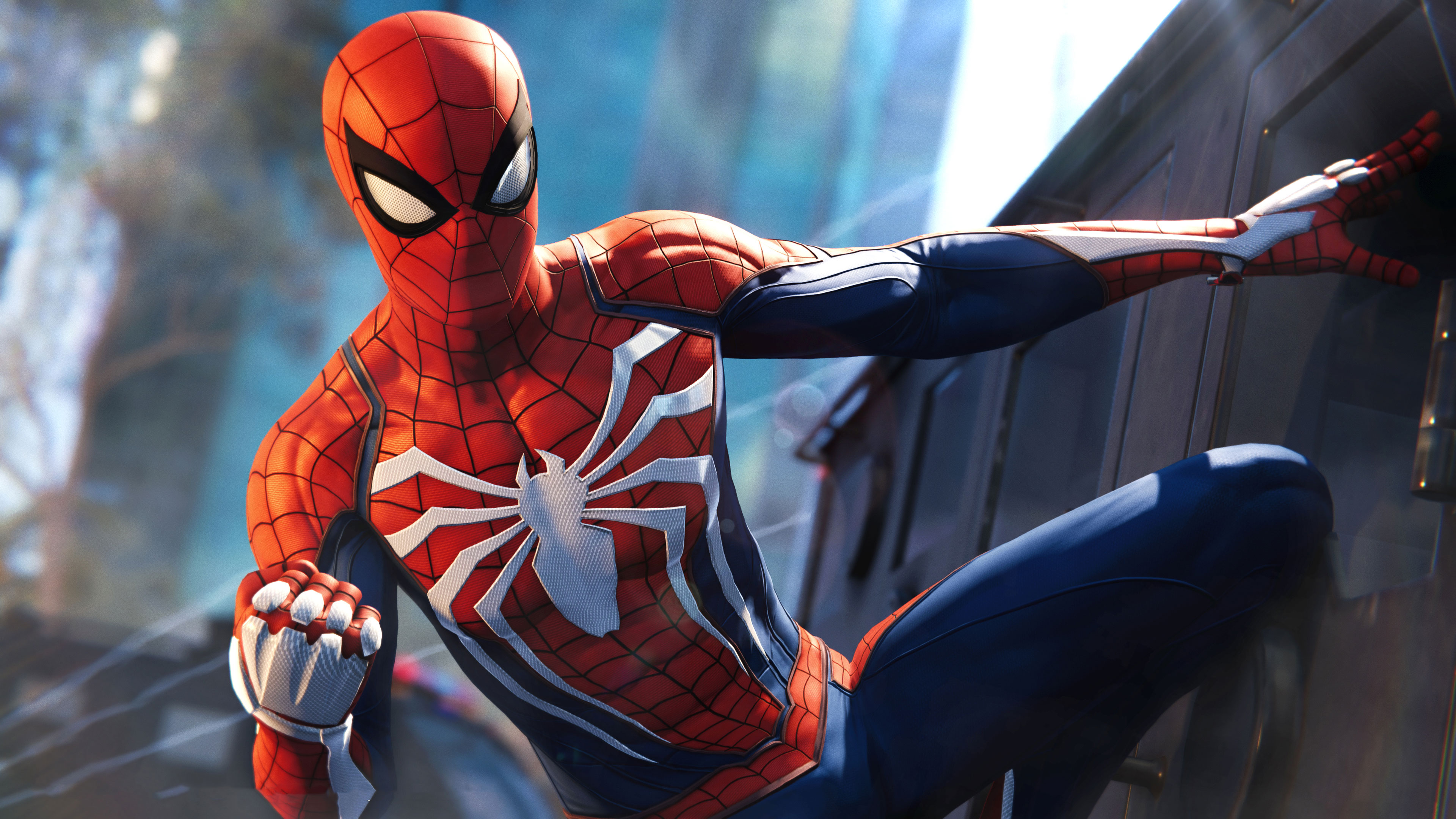 Marvel S Spider Man Ps4 Game High Quality Resolution Wallpaper