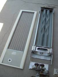 Vintage 50's Day+night wall heater - $50 (bako) : material ...