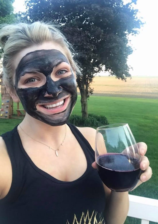 This bamboo charcoal detoxifying mask will leave your skin baby soft.