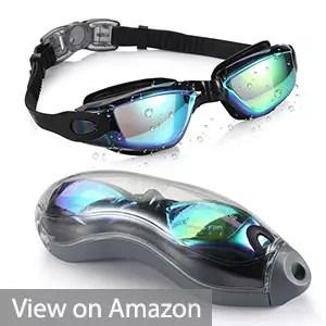Aegend No Leak Anti Fog Swimming Goggles