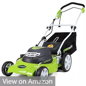 Greenworks 25022 20-Inch Corded Lawn Mower