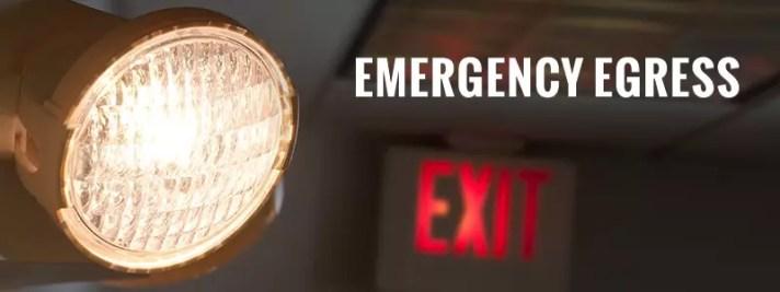 emergency we need our illumination equipment