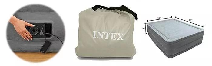 Details of Intex Comfort Plush Elevated Dura-Beam Airbed