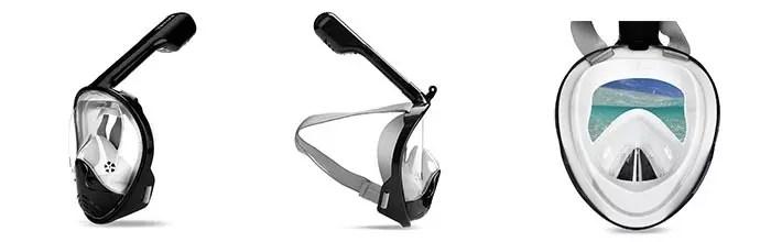 Details of Vaincre 180°Full Face Snorkel Mask