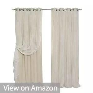Best Home Fashion Mix & Match Blackout Curtain Set