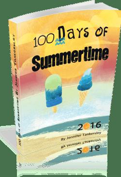 100 Days of Summertime 2016 eBook | ListPlanIt.com