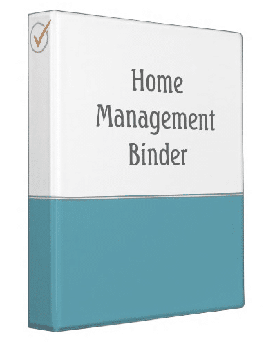Home Management Binder | ListPlanIt.com