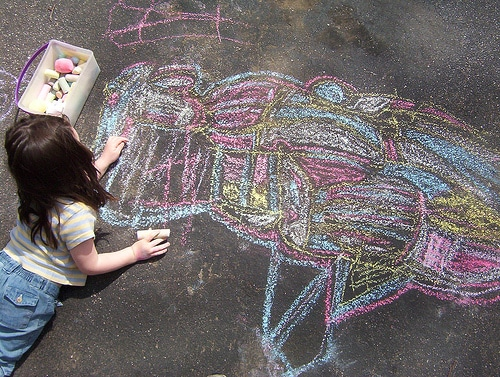 list of things to do with sidewalk chalk | ListPlanIt.com
