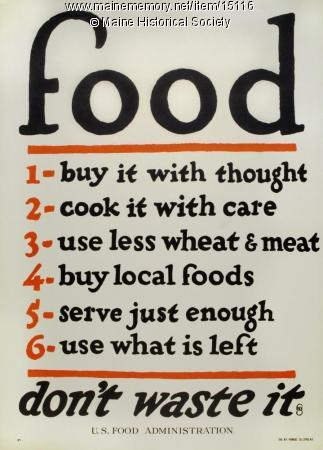 Vintage Rules for Food | ListPlanIt.com