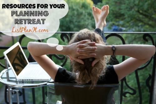 Planning Retreat | ListPlanIt.com