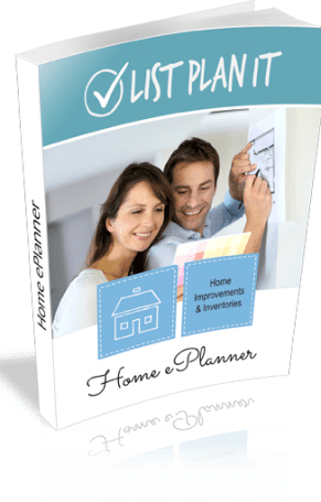 Home ePlanner includes new worksheets and financial planning pages that will guide you to better money management | ListPlanIt.com