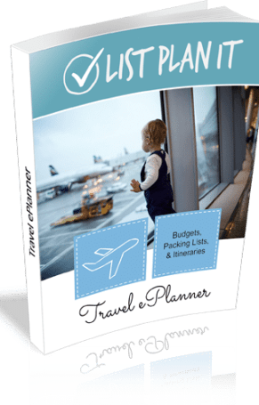 Travel ePlanner includes budgets, packing lists, and itineraries to guide you to your next trip or vacation. | ListPlanIt.com