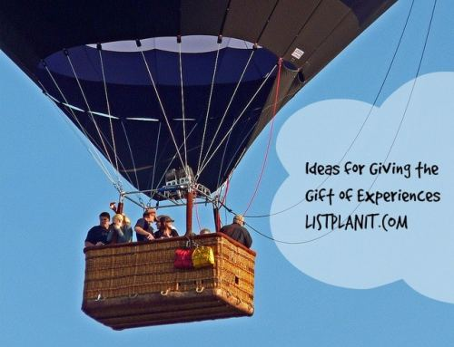 Ideas for Giving the Gift of Experiences | ListPlanIt.com