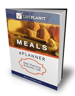 Meals ePlanner | ListPlanIt.com