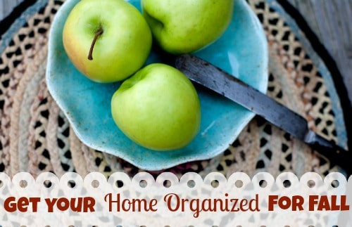 Get your Home Organized for Fall | ListPlanIt.com