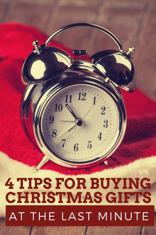 4 tips for buying christmas gifts