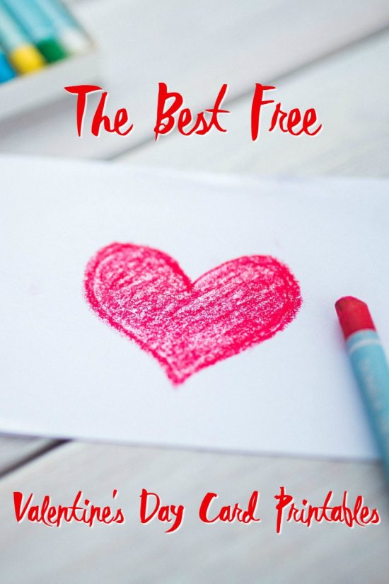 The Best Free Valentine's Day Card Printables 1