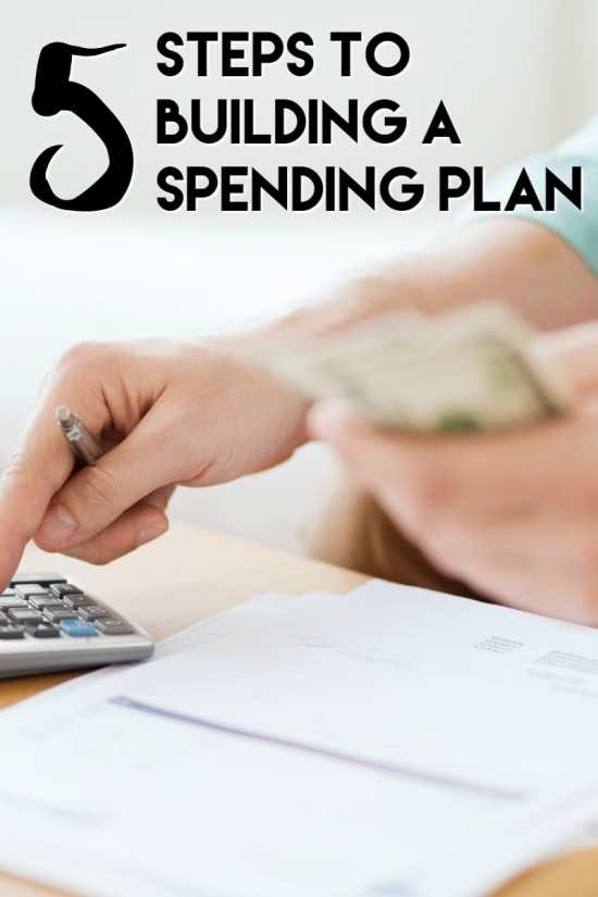 5 Steps to Building a Spending Plan