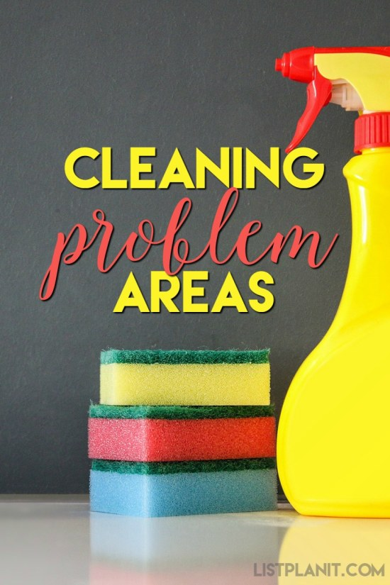 cleaning problem areas