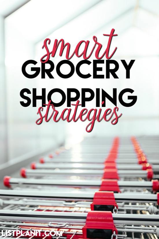 smart grocery shopping strategies
