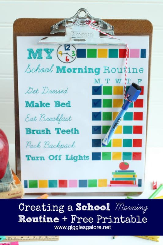 Creating-a-School-Morning-Routine-and-Free-Printable