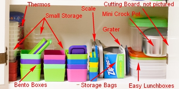 Organzing-a-Lunch-Station-for-Easy-Meal-Preparation-Storage